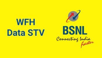 BSNL WFH Data STV With 28 Days Validity