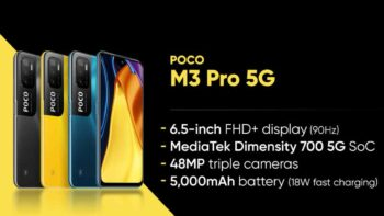 Poco M3 5G Lauched – First Flash Sale on June 14th